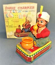 SNAKE CHARMER ( and Casey the Trained Cobra ) 1950's JAPAN by LINEMAR Co.