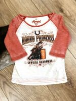 Cowgirl Hardware Girls Rodeo Princess Tee 815352-230 415352-230