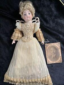 Louis Nichole Victorian Angel, Ornament Doll, VINTAGE 1983(j)
