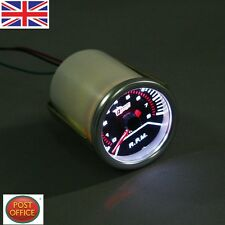 "Coche Auto 2"" 52mm Universal LED Tacómetro Rev Contagem Calibre Probador Medidor Tacho"