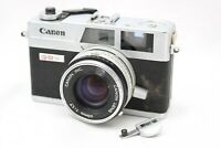 Canon Canonet QL17 G-III Rangefinder Film Camera w/1:1.7 Lens *For Parts* #AB09