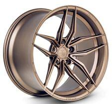 20x9/10.5 Ferrada F8-FR5 5x114 +35/40 Bronze Rims Fits Nissan 350Z Is250 Gs350