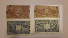 LIRE 5 E LIRE 10 ANNO 1945 REGNO D'ITALIA