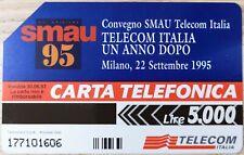 SCHEDA TELEFONICA SMAU 1995 L. 5.000 (456)