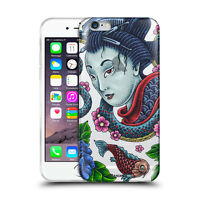 Custodia Cover Design Geisha Per Apple iPhone 4 4s 5 5s 5c 6 6s 7 Plus SE