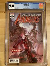 Avengers 22 CGC 9.8 Carnage-ized Variant 🔥 Jung-Geun Yoon 🔥