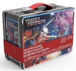 FUNKO TRANSFORMERS VS G.I. JOE METAL LUNCH BOX GAMESTOP EXCLUSIVE TIN NEW EMPTY