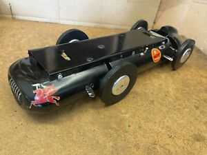 The Black Tether Car With Dual Red Head Mc Coy .60 Racing Engines