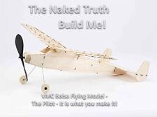 Vintage Model Company Pilot - Beginner Balsa Flying Model Aircraft Laser Cut Kit