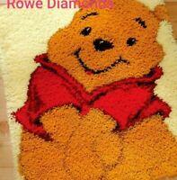 DIY Disney Winnie the Pooh Bear Cute Make your own Latch Hook Rug Unique Gift UK