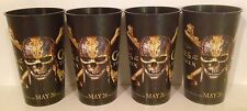 Pirates of the Caribbean 2017 Movie Theater Exclusive Four 44 oz Plastic Cups