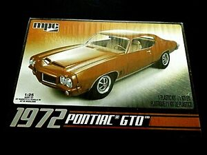 Model Kit 1972 Pontiac GTO MPC 1:25