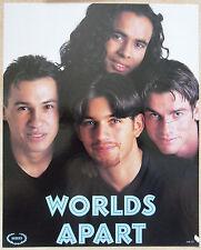 WORLDS APART  mini-poster cartonné TRES  BON ETAT