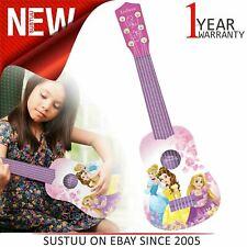 Lexibook K200DP Kid's Disney Princess My First Guitar|6 Nylon String|Pink/Purple