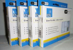 ESU 4x 59827 LokPilot 5 micro DCC, 6-pin Direkt, Spurweite N,(Stückpreis=28,50)