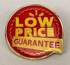 New listing Rare Walmart Lapel Pin Low Price Guarantee Employee Pinback Wal-Mart