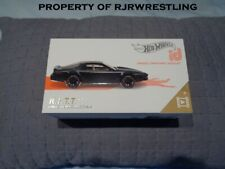 HOT WHEELS ID K.I.T.T. DIE CAST CAR LIMITED RUN COLLECTIBLE KNIGHT RIDER SERIES