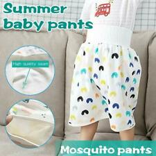 Childrens Diaper Skirt Shorts 2 in 1 Waterproof and Absorbent 4-8 For 0-4 G3C7