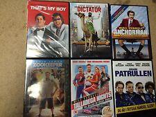 NEW DVD Films * COMEDY MOVIES BUNDLE * 6 FILMS *