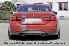 BMW 4 Series LCI F32 F33 F36 435i/440i 'Look' Rieger Rear Diffuser - ABS