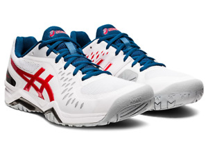 Mens Tennis Shoes ASICS CHALLENGER 12 Trainers Sport Squash 1041A045-117