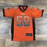 Rey Maualuga Cincinnati Bengals Reebok On Field Jersey Men Size 54 ...