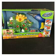 Create a Dinosaur Create and Play Tr-03 Build a Triceratops with Tools New