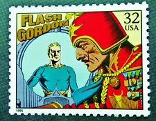Us Usps unused postage stamp Alec Raymond Flash Gordon Ming the Merciless