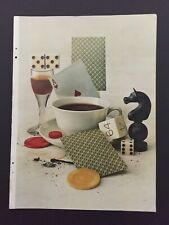 """Collectible 1951 Photographic Picture """"After Dinner Games"""" by Irving Penn"""