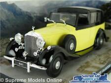 ROLLS ROYCE PHANTOM III MODEL CAR JAMES BOND 1:43 SCALE GOLDFINGER SPECIAL K8