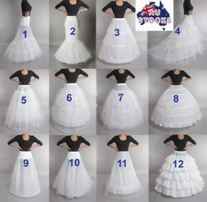 Wedding Petticoat Bridal Hoop Crinoline Prom Underskirt adult size-Sydney stock