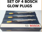 Ford Focus Galaxy CMax OE Quality Set Of 4 Bosch Glow Plugs 0250202048 GLP 055