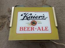Vintage and Rare Kaier's Beer Light