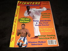 FIGHTERS Martial Art Magazine Book January 2002 Tony Jackson Superstar A3 Poster