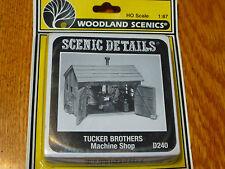 Woodland Scenics HO #240  -  Tucker Brothers Machine Sh