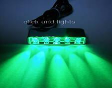 12V 5 X 5 LED POD GREEN LED LIGHT FOR STEP SPOT DOOM LIGHT GN5B