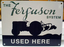 FERGUSON SYSTEM METAL WALL SIGN 35 65 135 165 TRACTORS