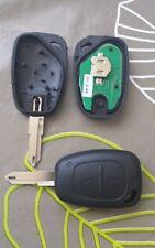 Cle Complète telecommande Renault master kangoo trafic Opel Vivaro Fiat