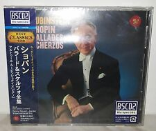 BLU-SPEC CD RUBINSTEIN - CHOPIN - BALLADES SCHERZOS - JAPAN SICC 30058
