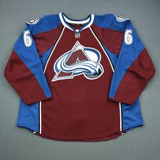 2011-12 Erik Johnson Colorado Avalanche Game Used Worn Hockey Jersey! MeiGray
