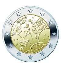 VVK - 2 Euro Gedenkmünze Malta 2020 Spiele - Nur 200.000 Auflage