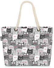 Graue Katzenbande Beach Bag Katze Kätzchen Tier Haustier Kinder Kinderzimmer