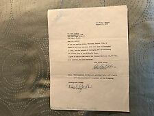El Rancho Vegas Agreement To Hire Paul Godkin Choreographer Signed In Ink 1959