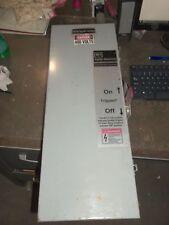 CUTLER-HAMMER JFDN225 CIRCUIT BREAKER ENCLOSURE SWITCH W/ HFD3050L 50A 3POLE(30)