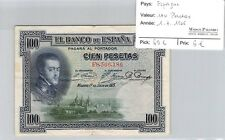 BILLET ESPAGNE - 100 PESETAS - 1.7.1925