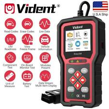 US VIDENT iEasy320 OBD2 Car Scanner Automotive Delete Code Lifetime Free Update