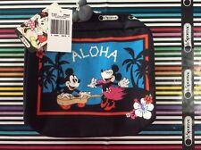 Nwt LeSportsac Disney Aloha Holiday Mickey and Minnie Xl Recangular Cosmetic Bag