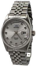 Orient Leader 'President' FEV0J003WY Silver Dial Stainless Steel Men's Watch