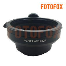Adapter For Pentax 67 6X7 Mount Lens to Canon EOS EF Mount 500D 5D 60D 7D 650D