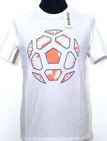 BIKKEMBERGS T-Shirt Herren weiss Fussball Gr. XS M XXL Neu Etikett NP 140€!